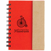 Custom Sticky Flags - Small Spiral Notebook w/ Sticky Notes & Flags