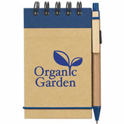 "Spiral Jotter & Pen, Eco-Friendly , 3"" x 5"""