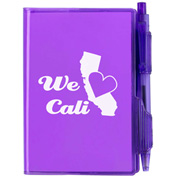 Customized Jelly Notebook With Pen