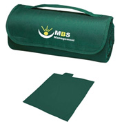 Promotional - Sweatshirt Roll-Up Blanket, Embroidered