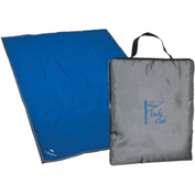 Promotional - Reversible Fleece/Nylon Blanket w/Carry Case, Embroidered