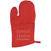 Custom Quilted Cotton Canvas Oven Mitt