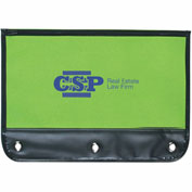 Promotional Pencil Cases - Zippered Pencil Case, Fits Standard 3 Ring Binders