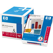 "Multipurpose Paper - HP 115100 - 8-1/2"" x 11"" - White - 2500 Sheets/Ctn"