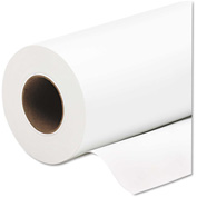 "HP Everyday Pigment Ink Photo Paper Roll Q8916A, 24"" x 100', Glossy White, 1 Roll"
