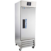 ABS Premier Pharmacy/Vaccine Stainless Steel Refrigerator, 23 Cu. Ft.