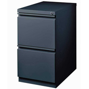 "Hirsh Industries® 20"" Deep File/File Mobile Pedestal - Charcoal"
