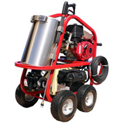 HOT-2-GO Portable Hot Water Pressure Washer 3500 @ 3 Gas Powered Diesel Heated