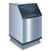 Manitowoc Ice B-570 Ice Bin, Stainless steel exterior, Top-hinged front opening access door