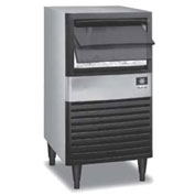 Manitowoc Ice QM-30A Ice Maker with Bin, Cube style, Air-cooled, Self contained condenser