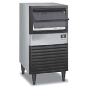 Manitowoc Ice QM-45A Ice Maker with Bin, Cube style, Air-cooled, Self contained condenser