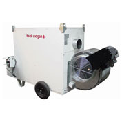 Heat Wagon Indirect Fired Oil Heater VF900C - 900,000 BTU 240V Ductable