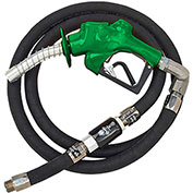 "Husky VIIIS HD Press Active Diesel Noz w/Waffle Splash Guard, 1""x11'9"" Hardwall Whip Hose-10698-03"