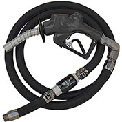 "Husky VIIIS HD Press Active Diesel Noz w/Waffle Splash Guard, 1""x11'9"" Hardwall Whip Hose-10698-04"