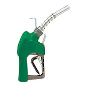 Husky XFS Unleaded Nozzle w/3-Notch Hold Open Clip, Full Grip Guard & Hook - 337004N-16