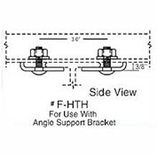 Hubbell F-HTH T-Track Festoon Angle Iron Support Brackets