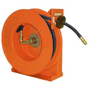 "Hubbell GHB5025-L Low Pressure Hose Reel for Air / Water - 1/2""x 25' 300 PSI"