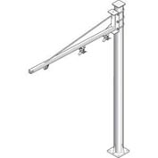 Hubbell W5F-100902 Jib Kit-Heavy Duty Floor Mounted, 50 Lb. Cap. 10 Ft. Fixed Boom on 9' Column