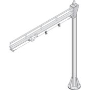 Hubbell W6S-101002 Jib Kit 300 Lb. Cap. 360 Degree 10 Ft. Swing Boom on 10 Ft. Column For Pneumatic