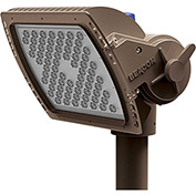 Hubbell AL-D/36NB-80/5K/4X4/UNV/SF3/BZT Alpha LED Flood, 80W,  8400L, 5000K, 4x4, Slipfitter, Bronze
