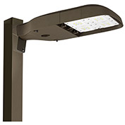 Hubbell ASL-16L-3 LED Area/Site Luminaire, 123W, 11000L,  4000K, 70 CRI, Type III, Dark Bronze