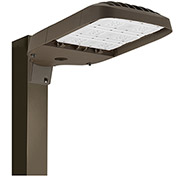 Hubbell ASL-24L-4 LED Area/Site Luminaire, 123W, 16000L, 4000K, 70 CRI, Type IV, Dark Bronze