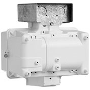 Hubbell BLA-400P8-WH-EX Superbay Ballast Housing Only, 400W PSMH, Quadtap
