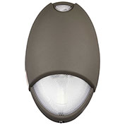 Hubbell CUWZ-HTR-PC LED Dark Bronze Nomally On AC & Emergency Unit, Wet & Cold Rated, Photo Control