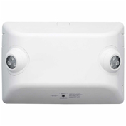 Hubbell EVHC12I-06L LED High-Lumen Emergency Unit, White, 546 Lumens, High Mounts, Self-diagnostics