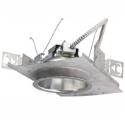 "Hubbell LC6SLDMEM 6"" Commercial LED Housing w Emergency, 0-10V Dim, Wet loc, use w6LCLED"