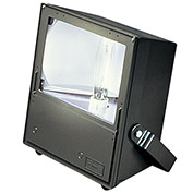 Hubbell MVK-1000H-268 Magnuliter HID Floodlight, 1000W MH,  Bronze, w/Lamp, Knuckle Mount,4Tap Ball.