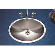Houzer CHT-1800-1 Opus Series Drop In Stainless Steel Oval Bowl Lavatory Sink