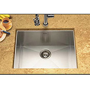 Houzer CTS-2300 Undermount Stainless Steel Single Bowl Kitchen Sink