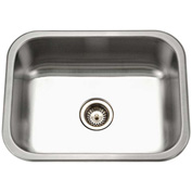 Houzer ES-2408-1 Undermount Stainless Steel Single Bowl Kitchen Sink