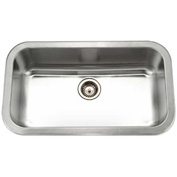 Houzer MGS-3018-1 Undermount Stainless Steel Large Single Bowl Kitchen Sink
