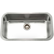 Houzer STL-3600-1 Undermount Stainless Steel Large Single Bowl Kitchen Sink