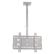 "TygerClaw CLCD102 23""-37"" Ceiling Monitor Mount - Silver"
