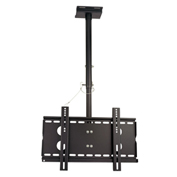 "TygerClaw CLCD102BLK 23""-37"" Ceiling Monitor Mount - Black"