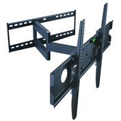 "TygerClaw LCD4091BLK 32""-63"" Full Motion Monitor Wall Mount - Black"