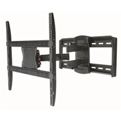 "TygerClaw LCD4095BLK 42""-70"" Full Motion Monitor Wall Mount - Black"