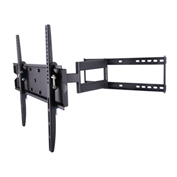 """TygerClaw LCD4097BLK 42""""-83"""" Full Motion Monitor Wall Mount - Black"""