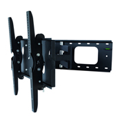 "TygerClaw LCD4098BLK 42""-83"" Full Motion Monitor Wall Mount - Black"