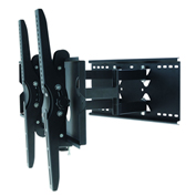 "TygerClaw LCD4103BLK 42""-70"" Tilt and Swivel Monitor Wall Mount - Black"