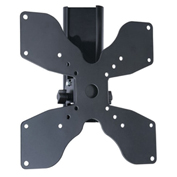 "TygerClaw LCD5005BLK 23""-37"" Tilt and Swivel Monitor Wall Mount - Black"