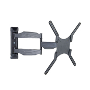 "TygerClaw LCD5008BLK 19""-57"" Full Motion Monitor Wall Mount - Black"