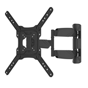 "TygerClaw LCD5445BLK 23""-55"" Full Motion Monitor Wall Mount - Black"