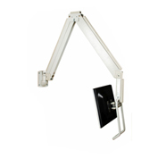 TygerClaw LCD6506 Hook Monitor Mount - White