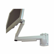 "TygerClaw LCD6507 10""-17"" Desk Monitor Mount - White"