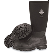 """Muck Boots CHH-000A Chore Hi-Non-Safety Toe Workboot, 16"""" Height, Size 15, Black"""