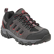 """KING'S® KEXT07 Men's Low Hiker, 3"""" Height, Size 7.5, Grey/Red"""